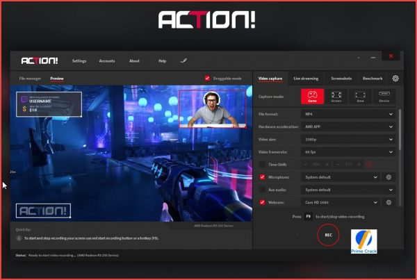 Mirillis Action Crack 4.11.0 & Activation Key Latest 2020