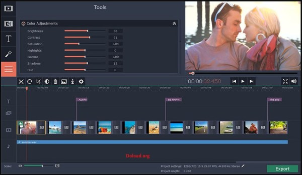 Movavi Slideshow Maker Crack 6.7.0 & Activation Key Latest 2020