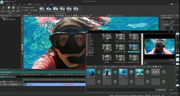 VSDC Video Editor 6.4.7.155 Crack + Serial Key Free Download 2020
