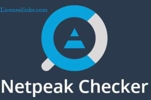 Netpeak Checker 3.3.2.1 Crack Professional SEO Tool Download