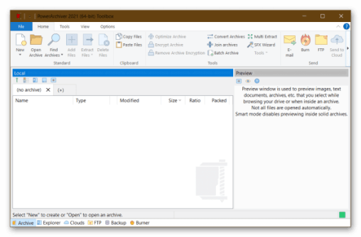 PowerArchiver Standard 20.10.02 Crack + Serial Key [Latest] Free