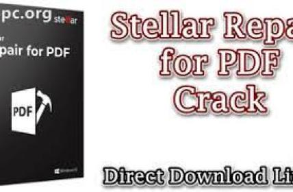 Stellar Repair for PDF 6.0.0.0 Crack Plus Serial Key [2021] Free Download