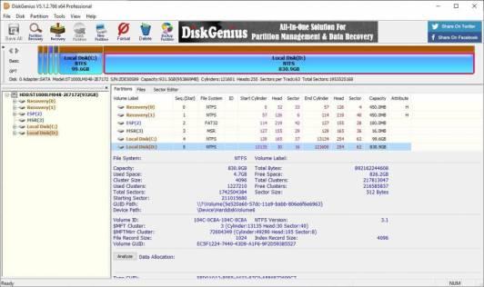 diskgenius professional 5.4.1.1178 crack + License Key [Latest Version]
