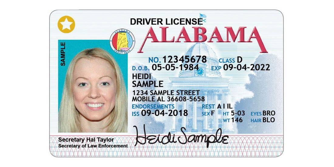 Alabama Driver License