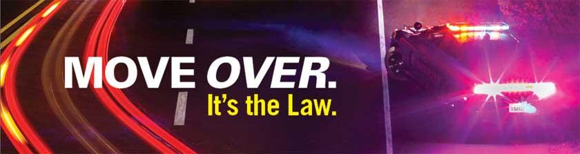 Move Over banner – NHTSA