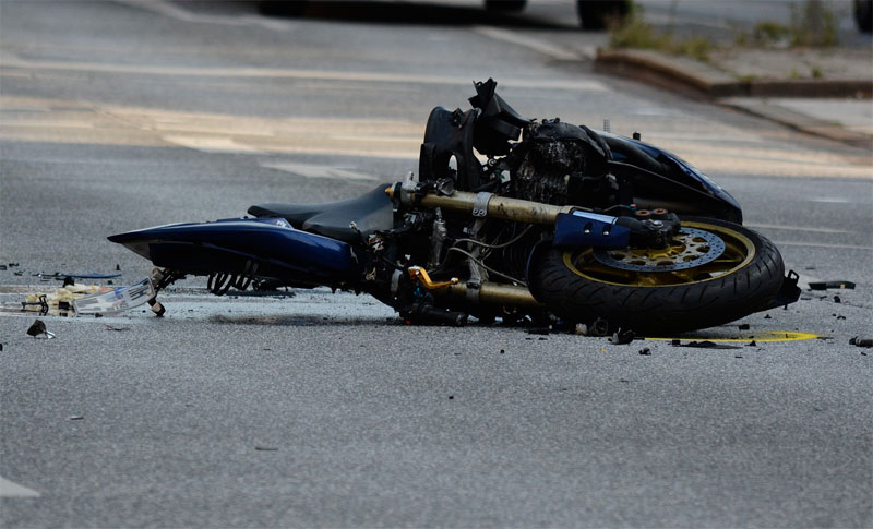 Where are Crashes between Cars and Motorcycles Most Likely to Occur?