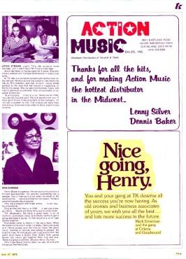 Criteria's Mack Emerman Thanks Henry Stone and TK Records