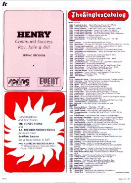 Top 75 Henry Stone Record Label Releases of 1976 (Part 1)