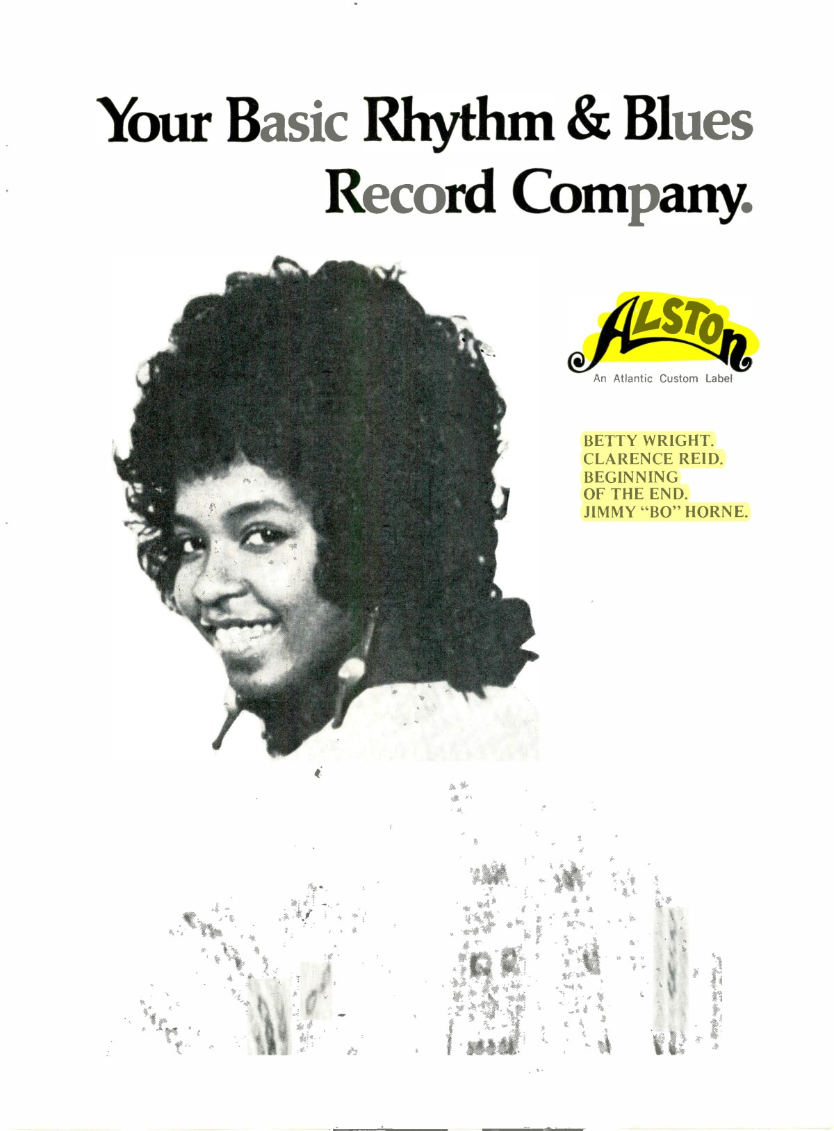 Alston Records Rhythm and Blues Company