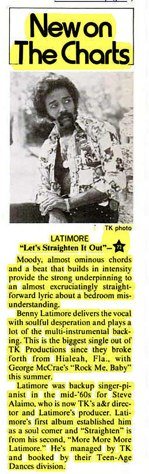 "Latimore ""Let's Straighten It Out"""