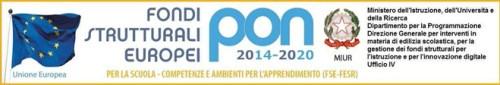 Logo Progetti PON 2014-2020