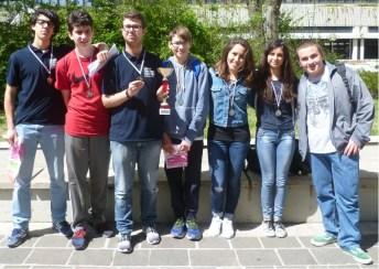 Squadra seconda classificata alla sfida mateMARCHEmatica 2016