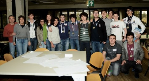 Partecipanti alla gara mateMARCHEmatica 2015