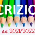Iscrizioni alle classi successive alla prima a.s. 2021-2022