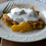 Peachy Plantain Cobbler (AIP/Paleo/Refined Sugar-Free)
