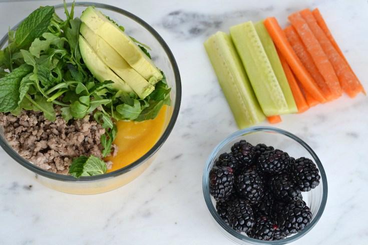 Savoury Lamb Lunch Bowls (AIP/Paleo/Sugar Free)