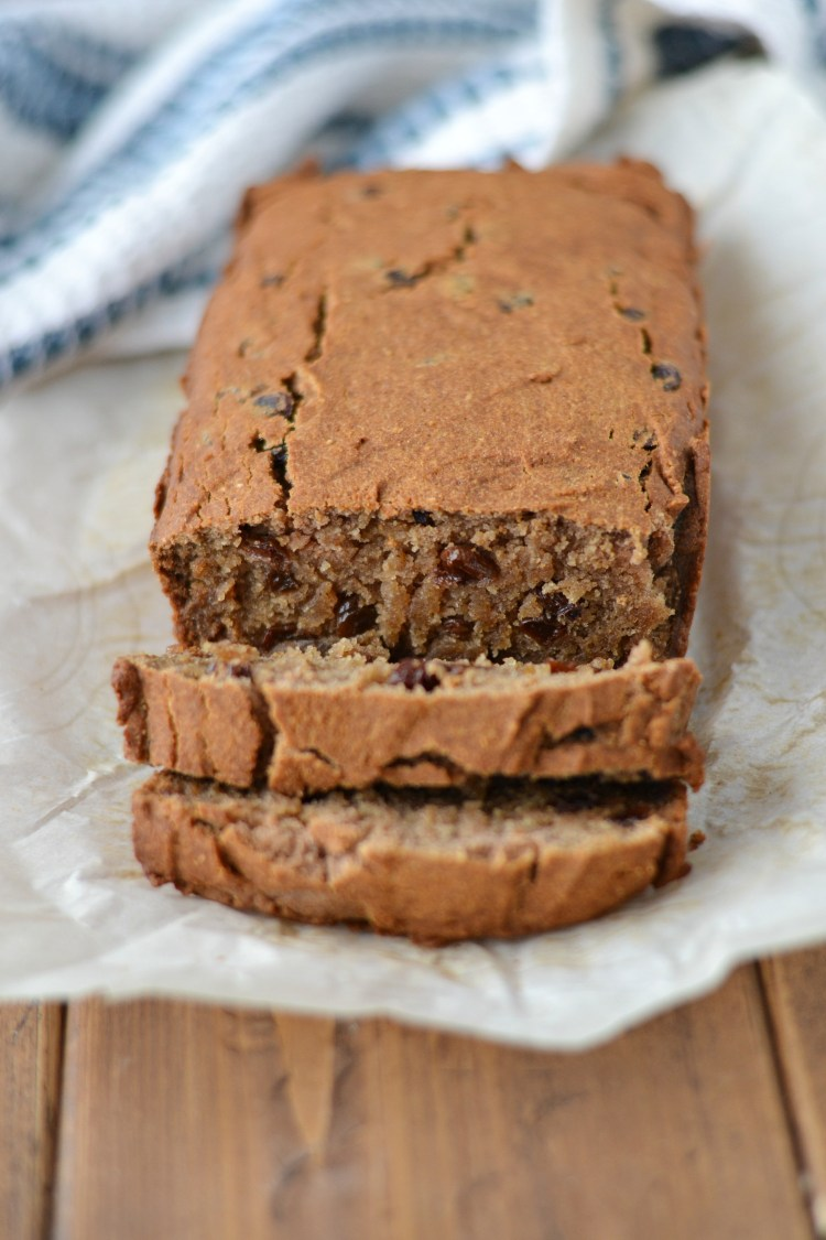 Raisin Cake (AIP/Paleo/Refined Sugar-Free)