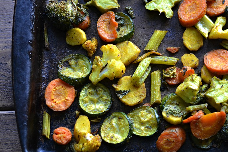 Curried Roasted Vegetables (AIP/Paleo/Whole 30)