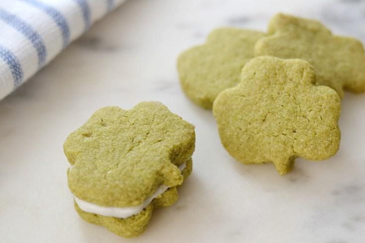 Shamrock Matcha Cookies (AIP/Paleo)