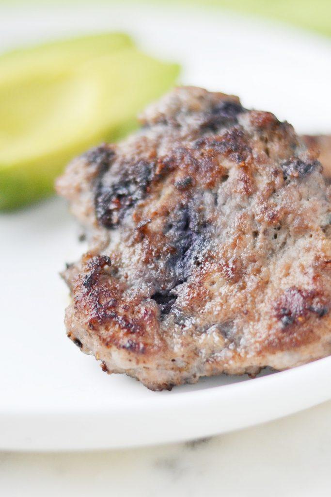 Blueberry Turkey Breakfast Sausage
