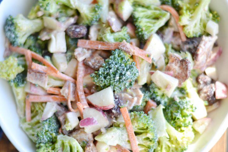 Broccoli Apple Salad (AIP/Paleo/Whole30)