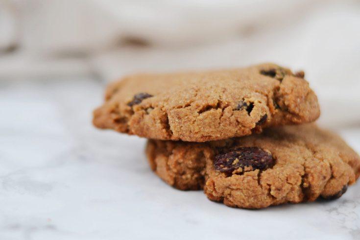 Cinnamon Raisin Cookies (AIP/Paleo)