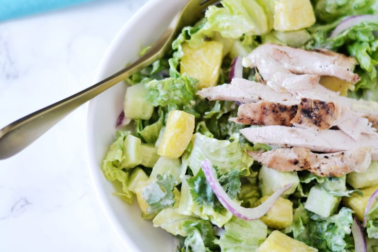 Pineapple Chicken Salad (AIP/Paleo/Whole30)