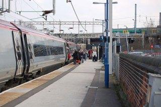 Lichfield Trent Valley railway station. Pic: Matt Thorpe