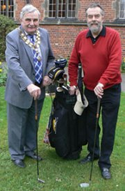 Councillor John Wilks and Councillor Ken Humphreys