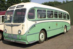A restored Harper Bros bus. Pic: Craig Woods