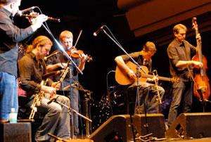 Traditional Irish band Lunasa