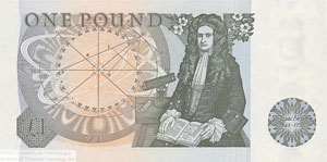 A £1 note