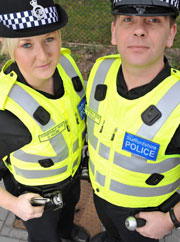 The new Staffordshire Police hi-vis vests