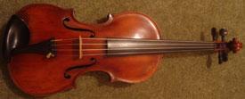 The rare violin discovered in Lichfield