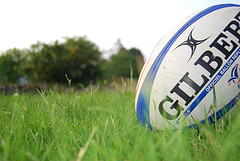 Rugby ball. Pic: Neil Winton