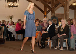 The fashion show in aid of St Giles Hospice