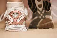 A pair of trainers. Pic: Maria Erin
