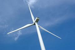 A wind turbine. Pic: Patrick Finnegan