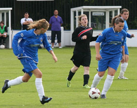 Chasetown Ladies in action