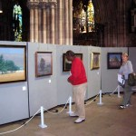 RN Clarke's exhibition at Lichfield Cathedral
