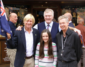 Michael Fabricant, John Wheeler, Robert Carr and Opal–Rose Garrington