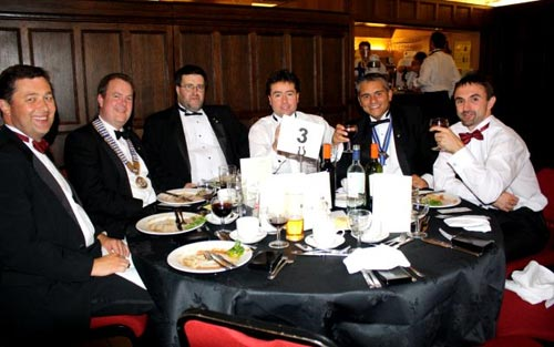 Members at the Lichfield Round Table 60th birthday celebrations