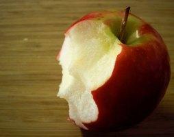 An apple. Pic: Tim Lewis