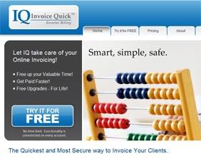 The Invoice Quick website