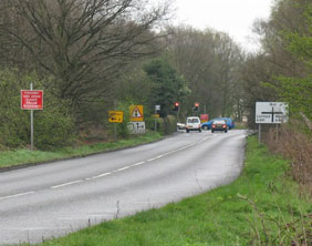 "Pipe Hill junction. Pic: <a rel=""cc:attributionURL"" property=""cc:attributionName"" href="