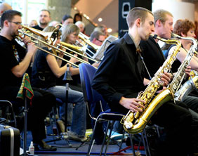 Walsall Jazz Orchestra. Pic: jazzcamera.co.uk