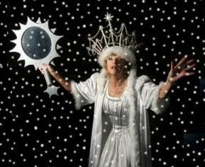 Jane Rossington as The Snow Queen