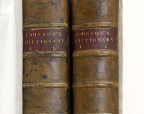Dr Johnson's Dictionary of the English Language