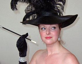 Ruth Harvey as Ava Gardner