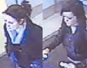 CCTV images of the two women police want to speak to
